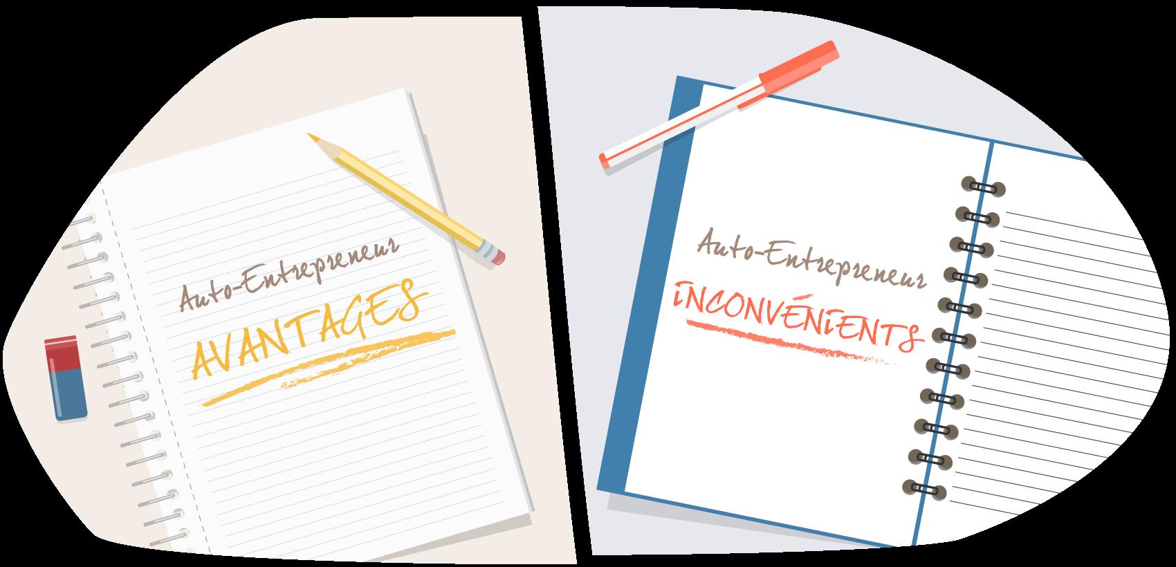 Statut Auto Entrepreneur Avantages Et Inconvenients