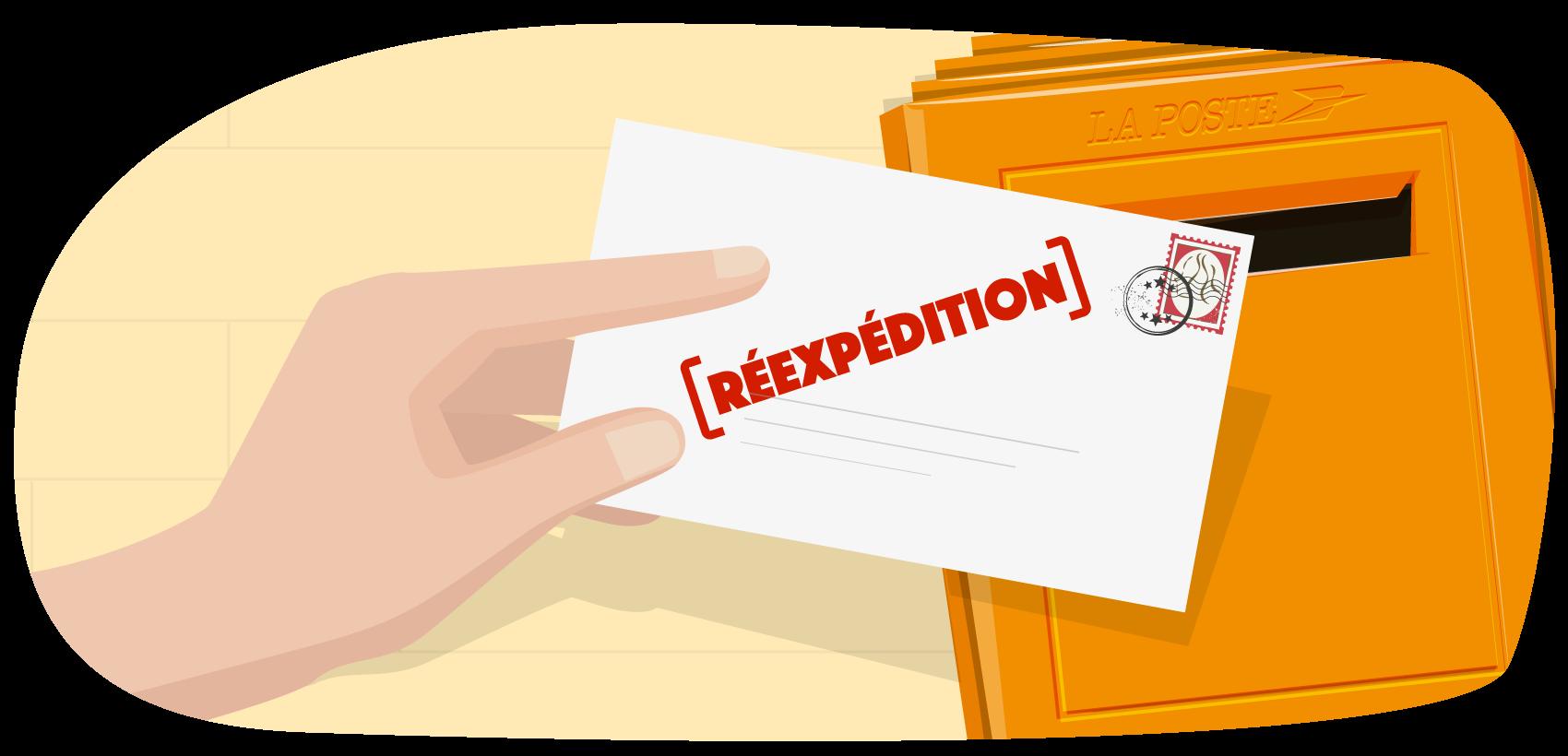 Domiciliation et exercice domicile quelles diff rences for Reexpedition du courrier temporaire