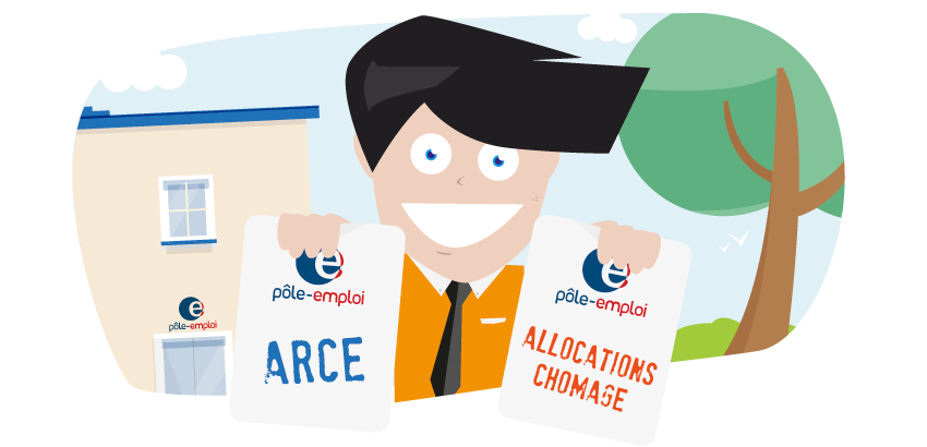 allocations chomage arce