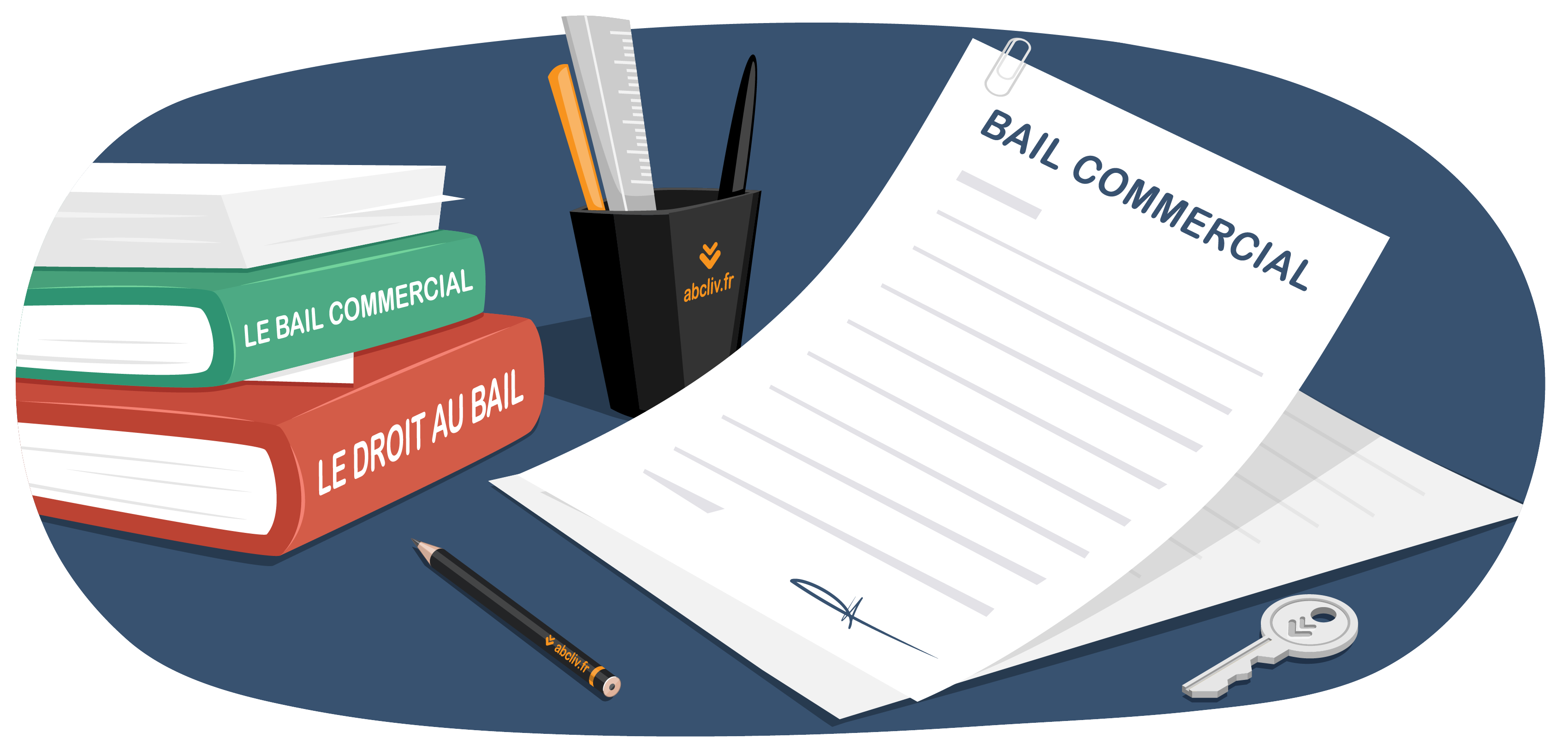 Illustration bail commercial
